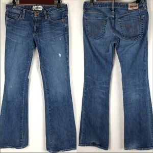 Big Star Honey Distressed Bootcut Jeans Size 29